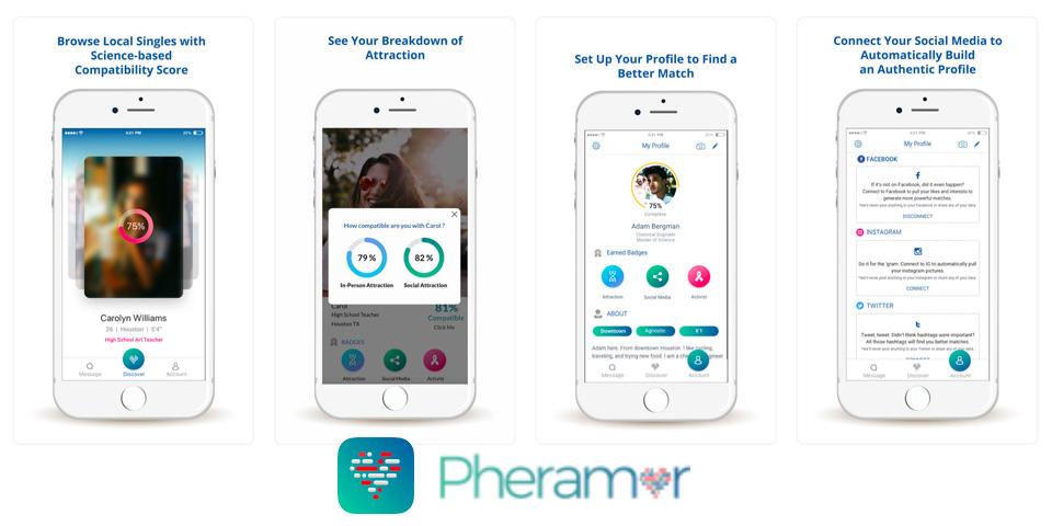 DNA(遺伝子)マッチングサービスを提供する出会いアプリ-Pheramorとは?